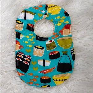 Other - NWOT Sushi Baby Bib